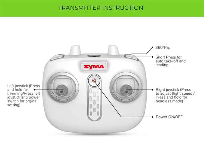 SYMA/シーマ  初心者に最適!X26 障害物検知インテリジェントスマート ドローン・バッテリー2個