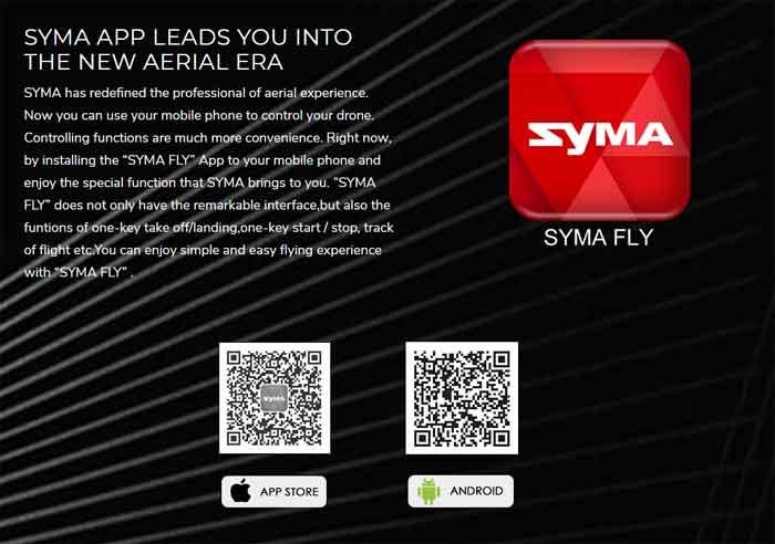SYMA/シーマ  X8PRO GPS HD720P WIFI FPVカメラ付き 高度保持RCドローン クワッドコプター