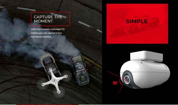 SYMA/シーマ  X8PRO GPS HD720P WIFI FPVカメラ付き 高度保持RCドローン クワッドコプター・バッテリー2個