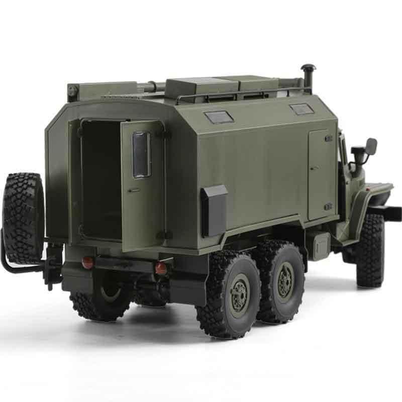 HengLong 1/16 ソ連ウラルミリタリートラック 4WD ダークグリーン(塗装済)Henglong 1/16 Soviet Unit RC B-36 URAL Military Truck Car RTR Model Toys 2.4G
