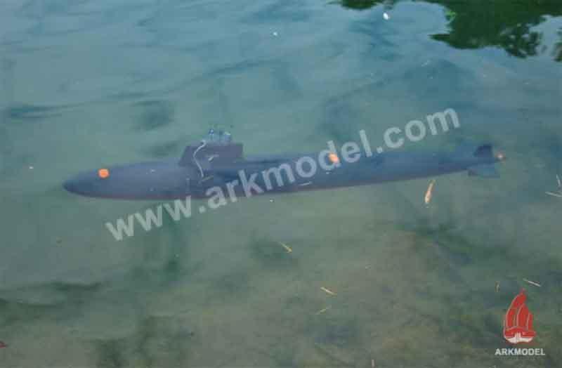 ARKModel  1/72USSスキップジャック級潜水艦キット(シングルポンプバラストシステム)MS1400K +WMS1400PS K
