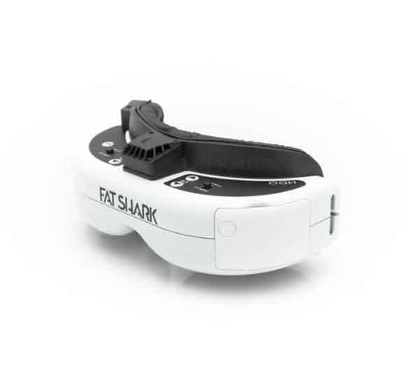 FatShark HDO OLED FPV Goggles  FPVゴーグル ドローン空撮用 FSV1122