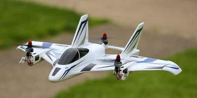 Horizon Hobby 垂直離着陸機ミニ・コンバージェンス機BNF Basic(E-flite Mini Convergence VTOL BNF Basic, 410mm)AH-EFL9350