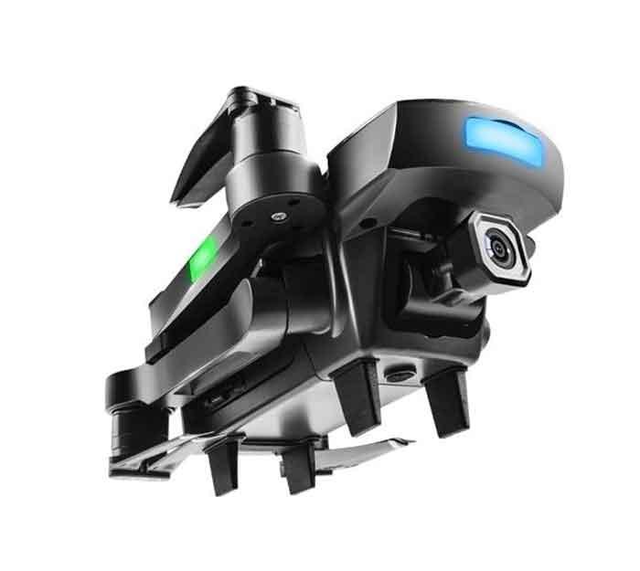 AOSENMA/アオセンマ CG033  WiFi FPV HD 1080PジンバルカメラGPSブラシレス折りたたみ式RCドローンクアドコプターRTF・バッテリー2個 - ブラック 300m FPV 付きサーボ ジンバル