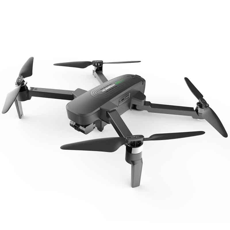 HUBSAN/ハブサン Zinoジーノ  PRO + Plus GPS 30fps UHDカメラ付き2.4G WiFi 日本仕様:2KM FPV 3軸ジンバル43分飛行時間RCドローンクアッドコプターRTF - キャリーケース付きバッテリー2個付き