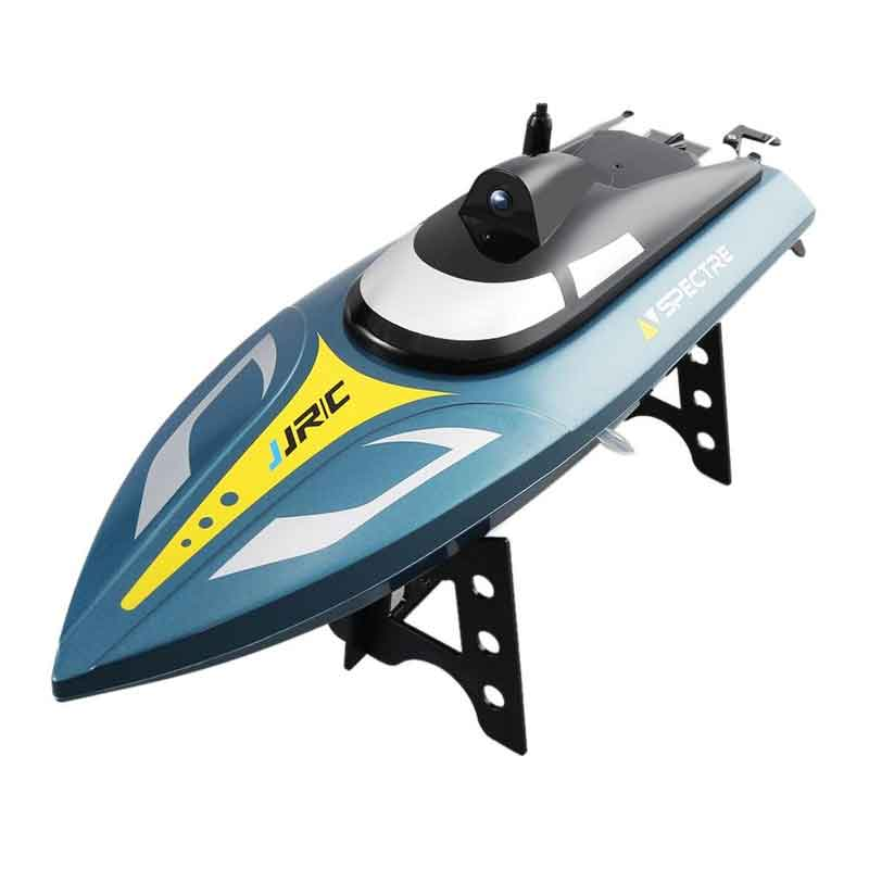 JJRC S4スペクター カメラ付きVハルレーシング RTR(JJRC S4 RC Boat Spectre 2.4G 720P WIFI FPV Camera 25km/h Capsizing Recovery High Speed RC Racing Boat)
