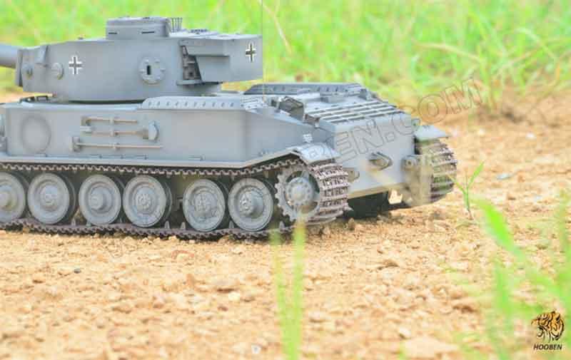 Hooben社 1/16 ドイツ ポルシェティーガー戦車キット VK 4501 TIGER PORSCHE HEAVY TANK tigerP