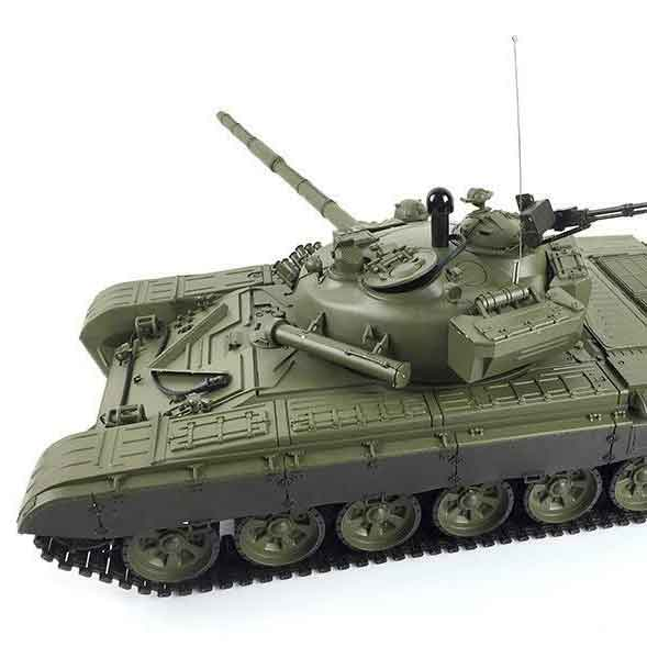 HengLong 1/16 T-72 2.4GHz(金属ギアボックス・プラキャタピラ・BB・サウンド・発煙仕様)3939-1