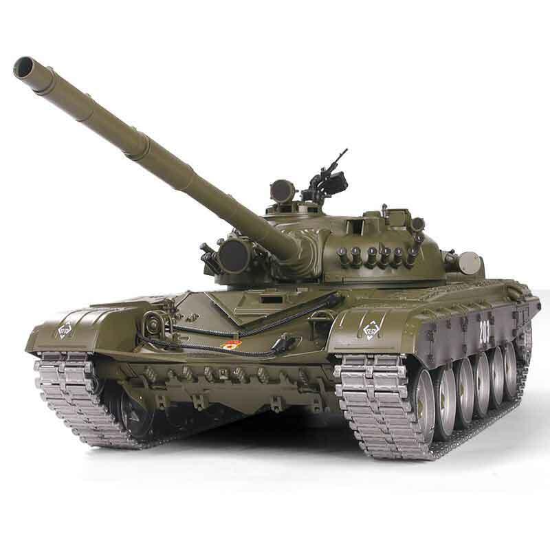 HengLong 1/16 T-72 2.4GHz(金属ギアボックス・金属キャタピラ・金属スプロケ・アイドラー・ロードホイール・BB・サウンド・発煙仕様)T-90 Russischer Kampfpanzer 1/16 Pro-Edition 3939-1Pro