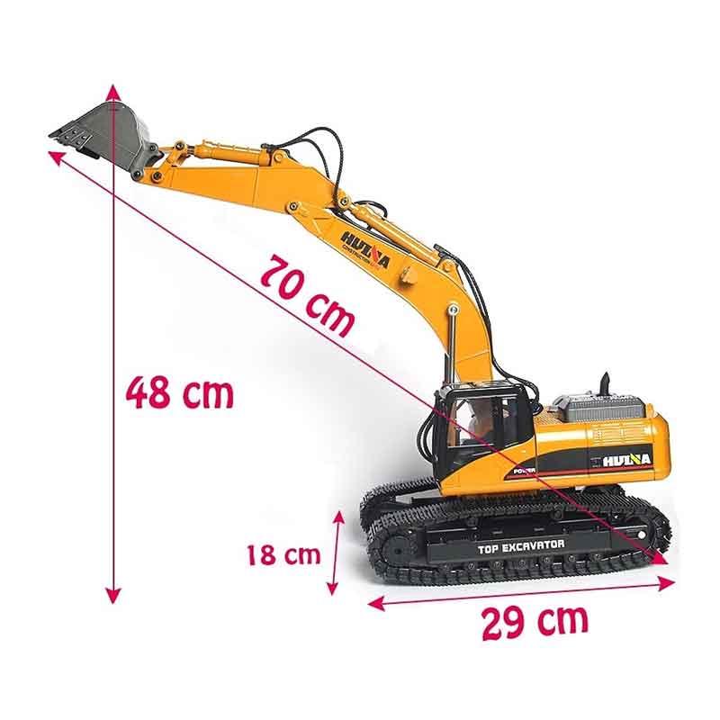 HuiNa Toys 1580  23CH フルメタル 1/14 RC ショベル (RTR)