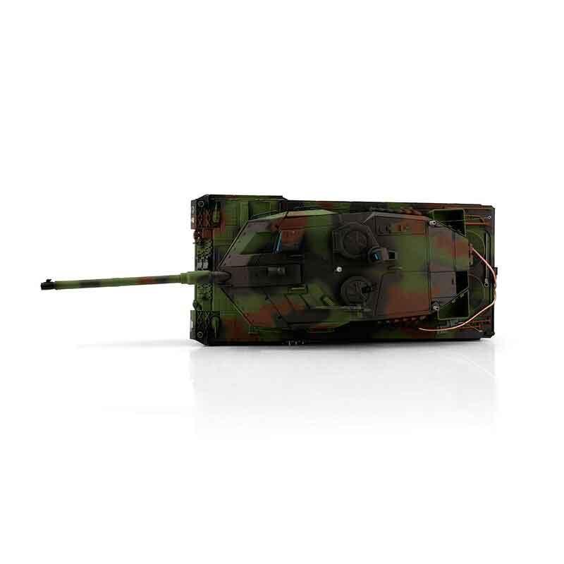 Torro 1/16レオパルド2A6プロ-メタルエディション2.4Ghz(金属キャタピラ・BB・サウンド・発煙仕様・NATO三色迷彩塗装)1/16 RC Leopard 2A6 BB 1113889004
