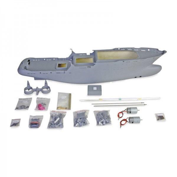 Graupner 1/75 ノルディック・サルベージタグボートキット Tug Boat Nordic, Scale 1 / 75, Premium Kit  21016