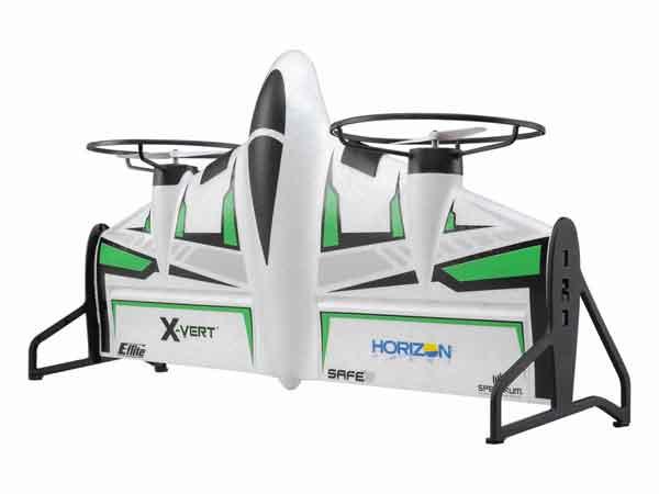 Horizon Hobby 垂直離着陸機) パークフライ機BNF Basic(X-VERT VTOL BNF Basic)AH-EFL1850