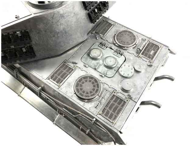 Mato/Clark 1/16 KingTiger 2.4Ghz(フルメタル・赤外線バトルシステム・サウンド仕様・アルミケース) 1228-M-IRAC