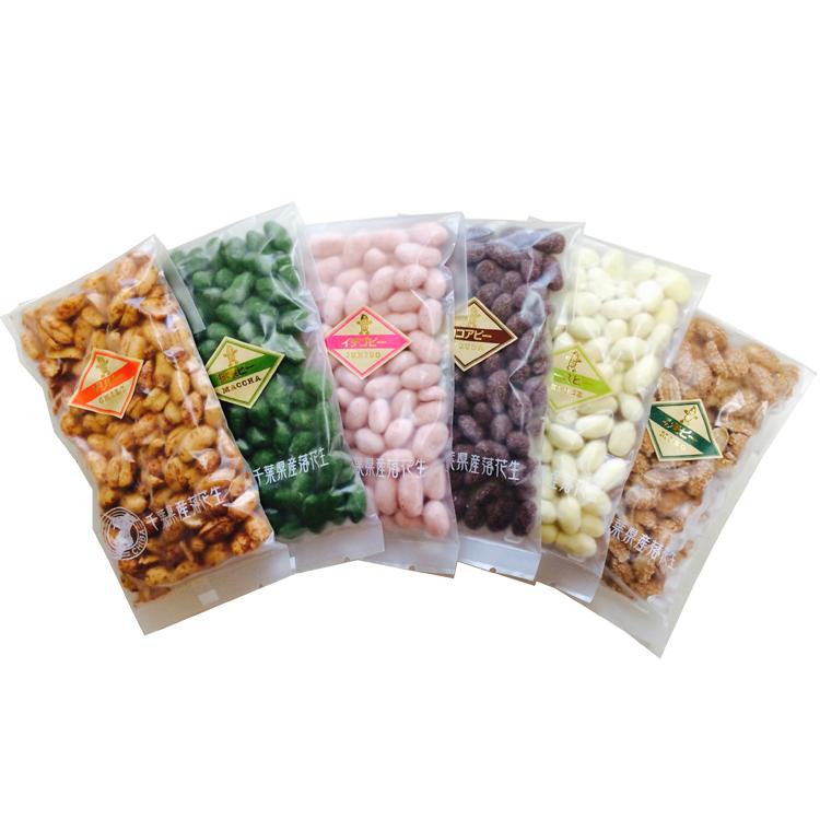 箱入豆菓子小袋6種