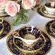 エインズレイ英国正統派の金・瑠璃彩トリオ