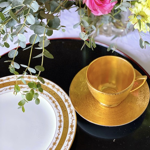 ミントンの幻 シャングリラ ティーカップ&ソーサー