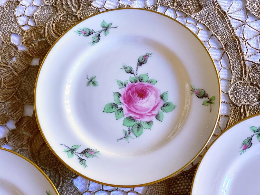 Lenox Rose B&B Plate (Set of 5)