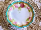 George Jones Crescent English Rose B&B Plate (Set of 5)  ジョージジョーンズ 手描英国の薔薇(5枚セット)