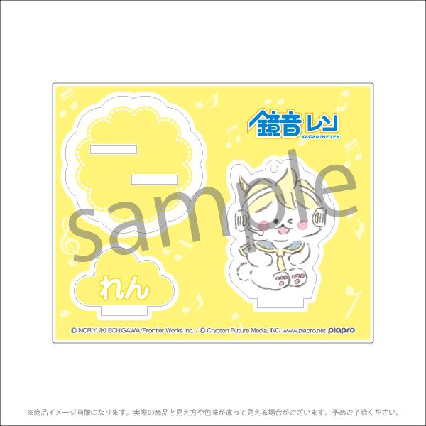 【初音ミクCP2021】アクリルスタンドキーホルダー<ほわころくらぶ ver.> 全6種