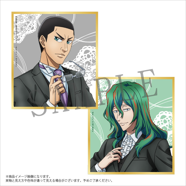 【TVアニメ『弱虫ペダル GLORY LINE』】トレーディングミニ色紙(全15種)/コラボ