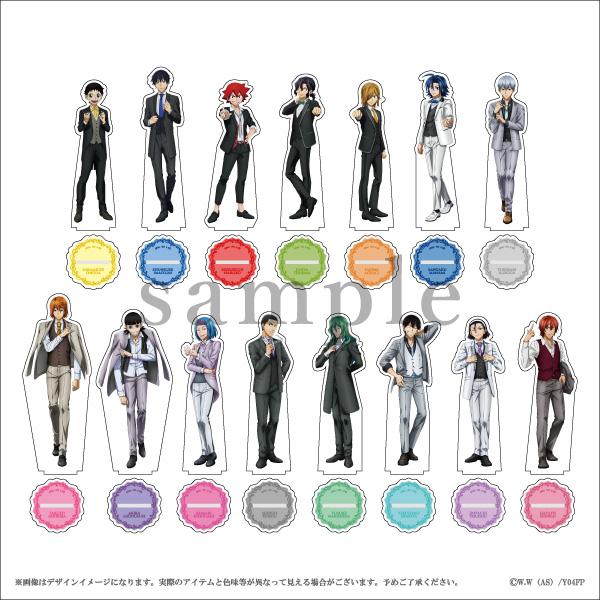 【TVアニメ『弱虫ペダル GLORY LINE』】アクリルスタンド(全15種)/コラボ
