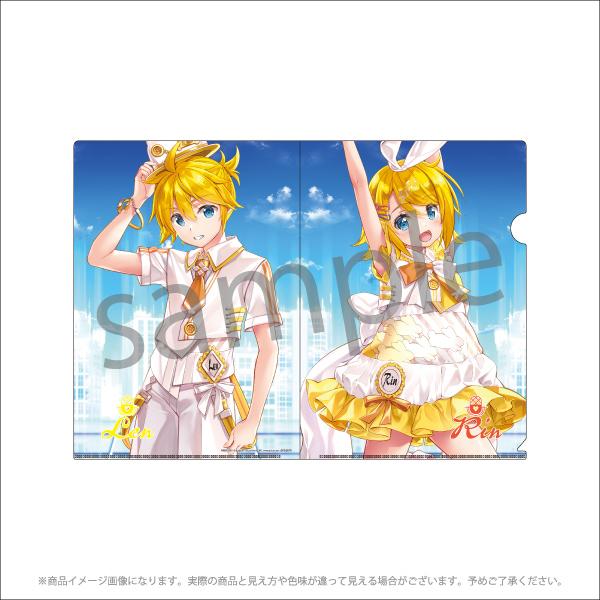 【初音ミクCP2021】A4クリアファイルセット<藤真拓哉 ver.> 4枚セット