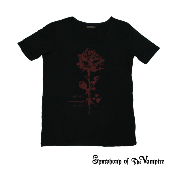 【SoTV】Blood Tシャツ -Rose-/Symphony of The Vampire