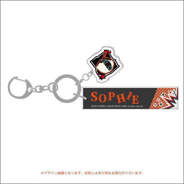 【マルイ・パレスイベントグッズ】<P5Sver.>ルームアクリルキーリング全10種/コラボ