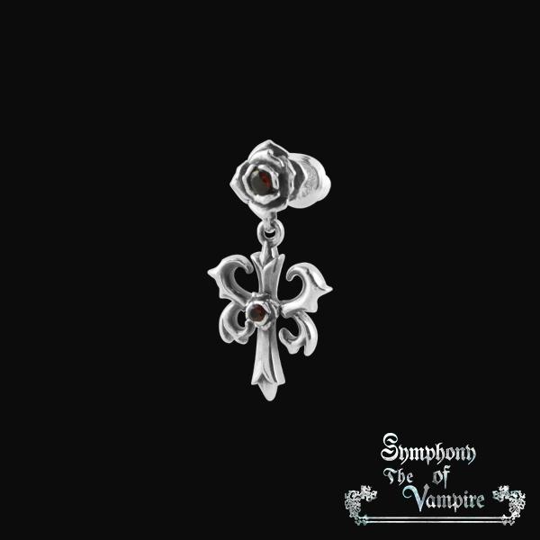 【SoTV】Emblem & Rose<ピアス>/Symphony of The Vampire