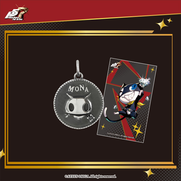 【PERSONA5 THE ROYAL】MONAモチーフコインチャーム