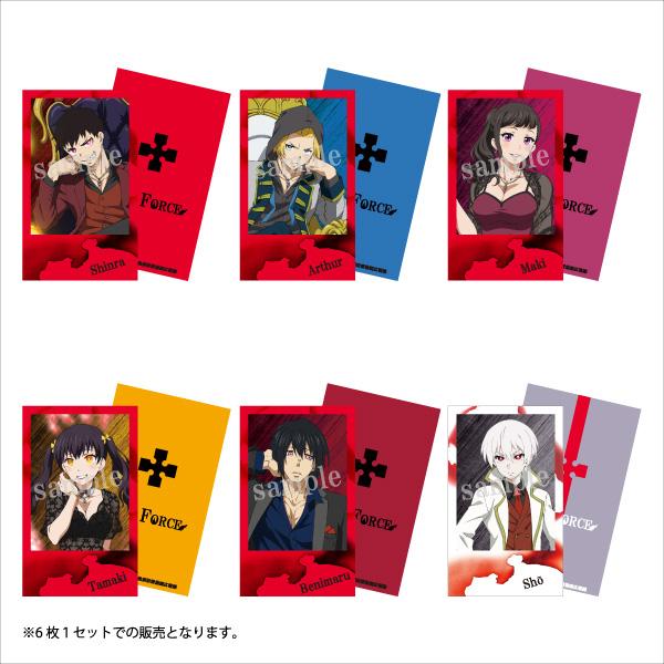 【TVアニメ「炎炎ノ消防隊」】チェキ風カード6枚セット/コラボ