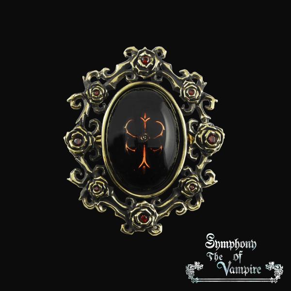 【SoTV】Sleeping Cross ブローチ/Symphony of The Vampire