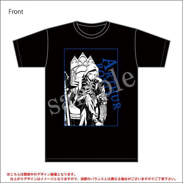 【TVアニメ「炎炎ノ消防隊」】<アーサー・ボイル>Tシャツ/コラボ