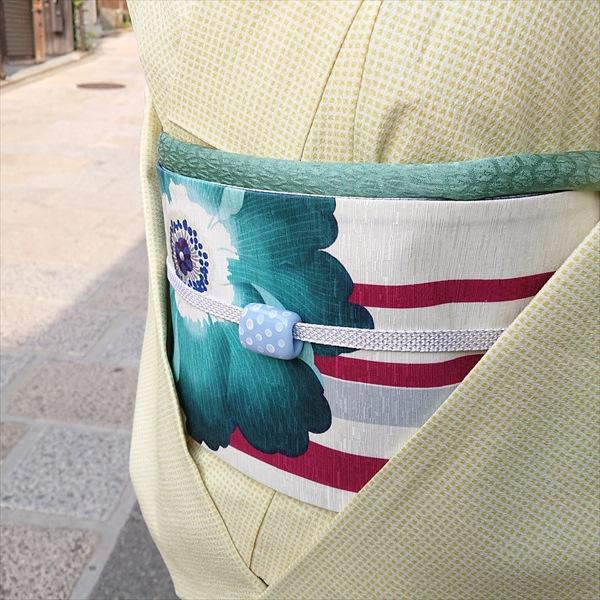 オリジナル半巾帯 アネモネ