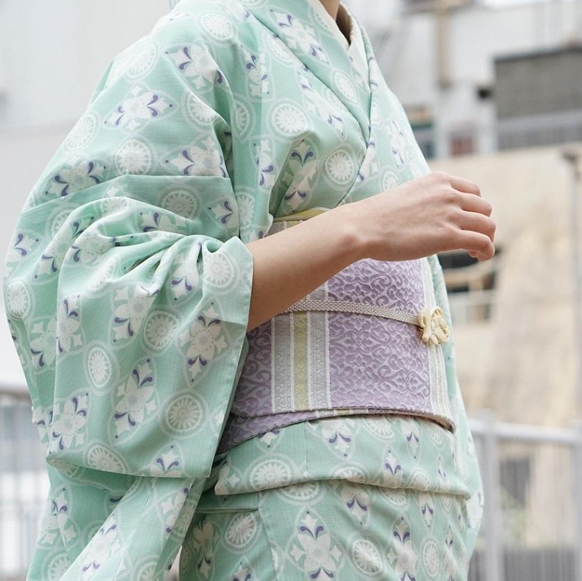 【再入荷】大塚呉服店オリジナル半巾帯 ペルシャ紋