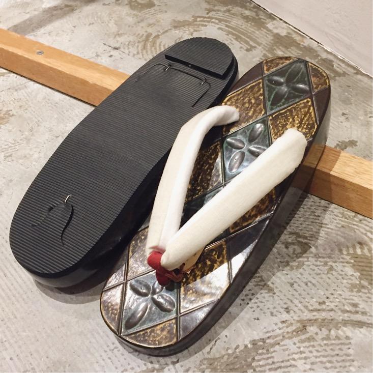 鎌倉彫 下駄