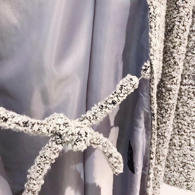ブークレツイード羽織/4色