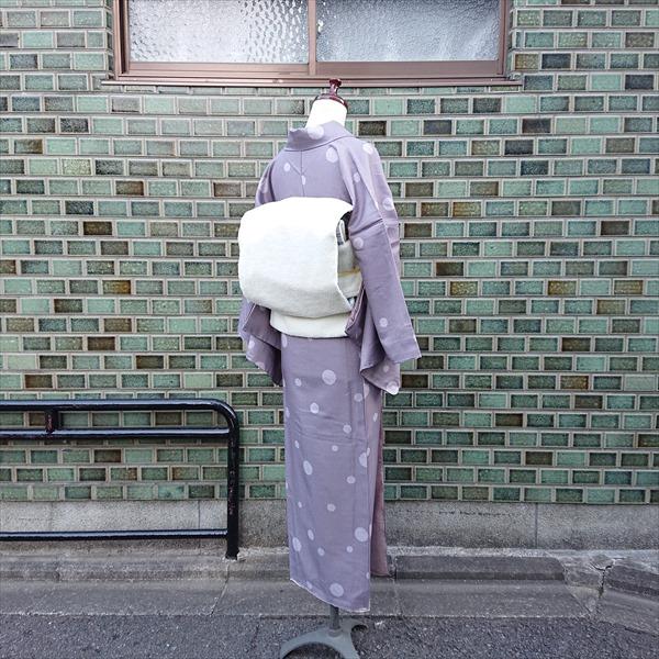 オリジナル名古屋帯 ボア/ホワイト