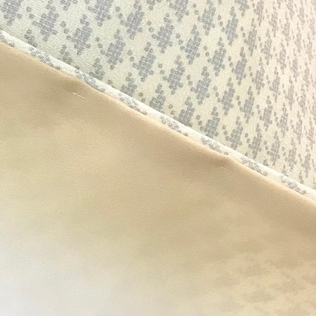 千鳥格子/ホワイト