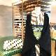 ブークレツイード羽織/ブラック