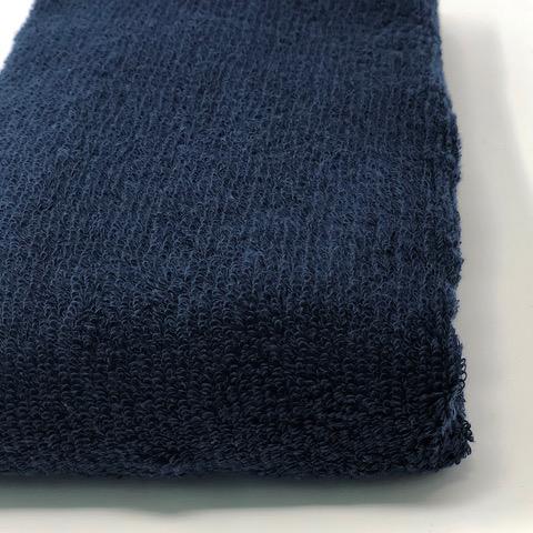 消臭・抗菌・速吸スマートバスタオル(今治タオル)<ネイビー> -34cm×120cm-