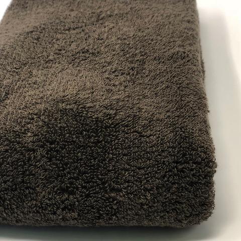 消臭・抗菌・速吸スマートバスタオル(今治タオル)<ブラウン> -34cm×120cm-