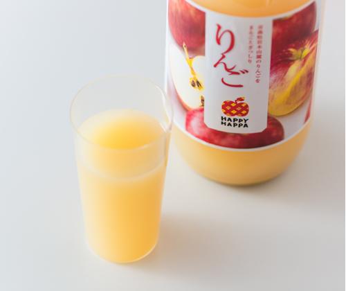 葉とらずりんごストレートジュース(6本セット)