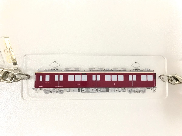 能勢 2両連結キーホルダー(両面印刷) 7200系
