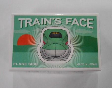 JR東 フレークシール 新幹線・電車の顔