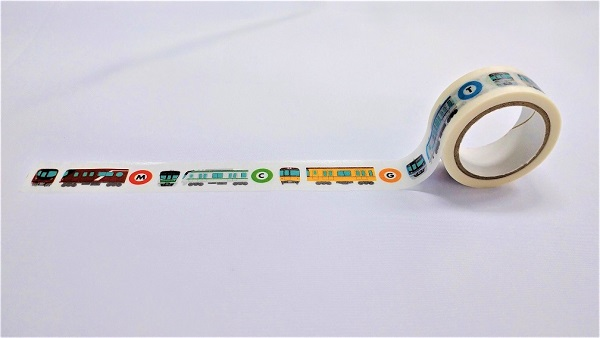 東京メトロ マスキングテープ Train