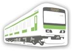 JR東 TRAIN POSTCARD 山手線