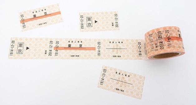 JR東 TRAIN Kippu Label レトロ