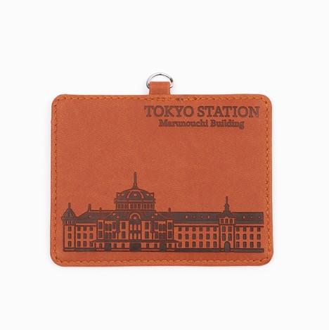 JR東 エンボスIDカードホルダー東京駅